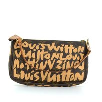 Louis Vuitton Pochette Graffiti Monogram Shoulder Bag