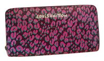 Louis Vuitton RARE Louis Vuitton Stephen Sprouse Leopard Vernis Zippy Wallet