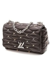 Louis Vuitton Quilted Satchel in Black