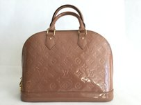 Louis Vuitton Satchel in Rose Velours