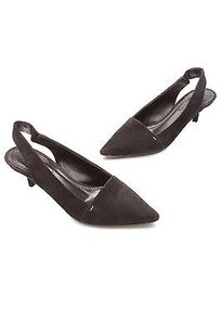 Louis Vuitton Suede Diana Slingback Size Black Pumps