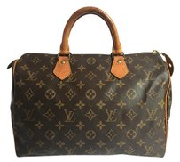 Louis Vuitton Speedy 30 Satchel in Monogram