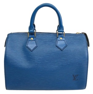 Louis Vuitton Tote in Blue Toledo