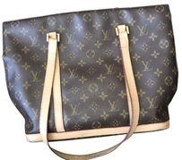 Louis Vuitton Vintage Leather Tote in MONOGRAM