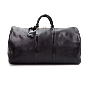 Louis Vuitton Vintage Leather Travel Bag