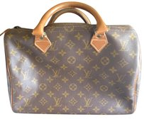 Louis Vuitton Vintage speedy Satchel in Monogram brown