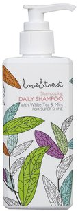 Love & Toast New Love & Toast Daily Shampoo with White Tea and Mint for Super Shine