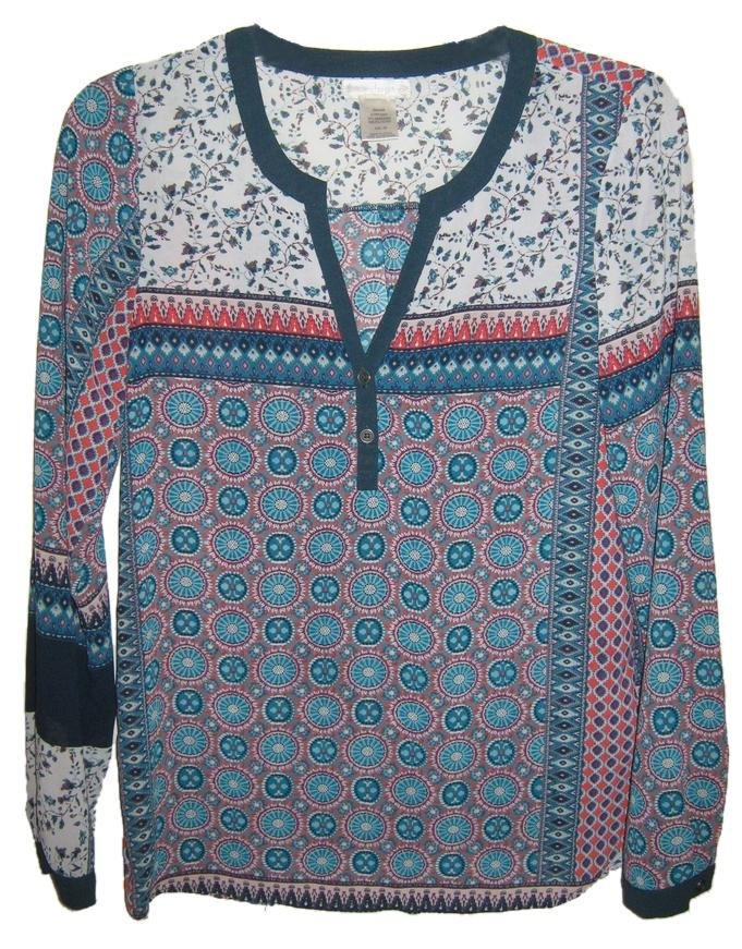 durable service Love on a Hanger Versatile Print Boho Tunic