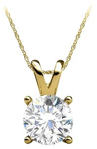 LoveBrightJewelry Natural Diamond 14K Yellow Gold Pendant at Cool Price