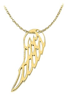 LoveBrightJewelry Uniquely Designed 18K Yellow Gold Vermeil Beautiful Pendant with a Free 16 Inch Chain Cool Price