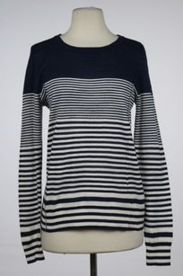 Lucky Brand Womens Navy Crew Sweater