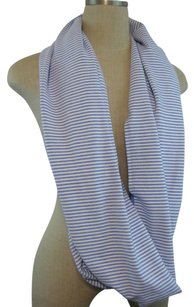 Lululemon Lululemon Lullaby White Heathered Vinyasa Rulu Scarf Wrap Striped