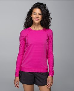 Lululemon Lululemon Run For Gold Long Sleeve In Jeweled Magenta