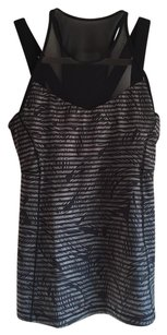 Lululemon Running in the city mesh black tank