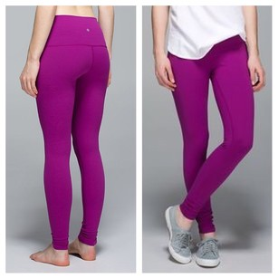 Lululemon Size 6 Nwt Wunder Under High Rise Pants