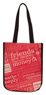 Lululemon Tote in Black, Red, White