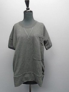 Lululemon Short Sleeved Wide Back Pleat Sweater 4225a Tunic