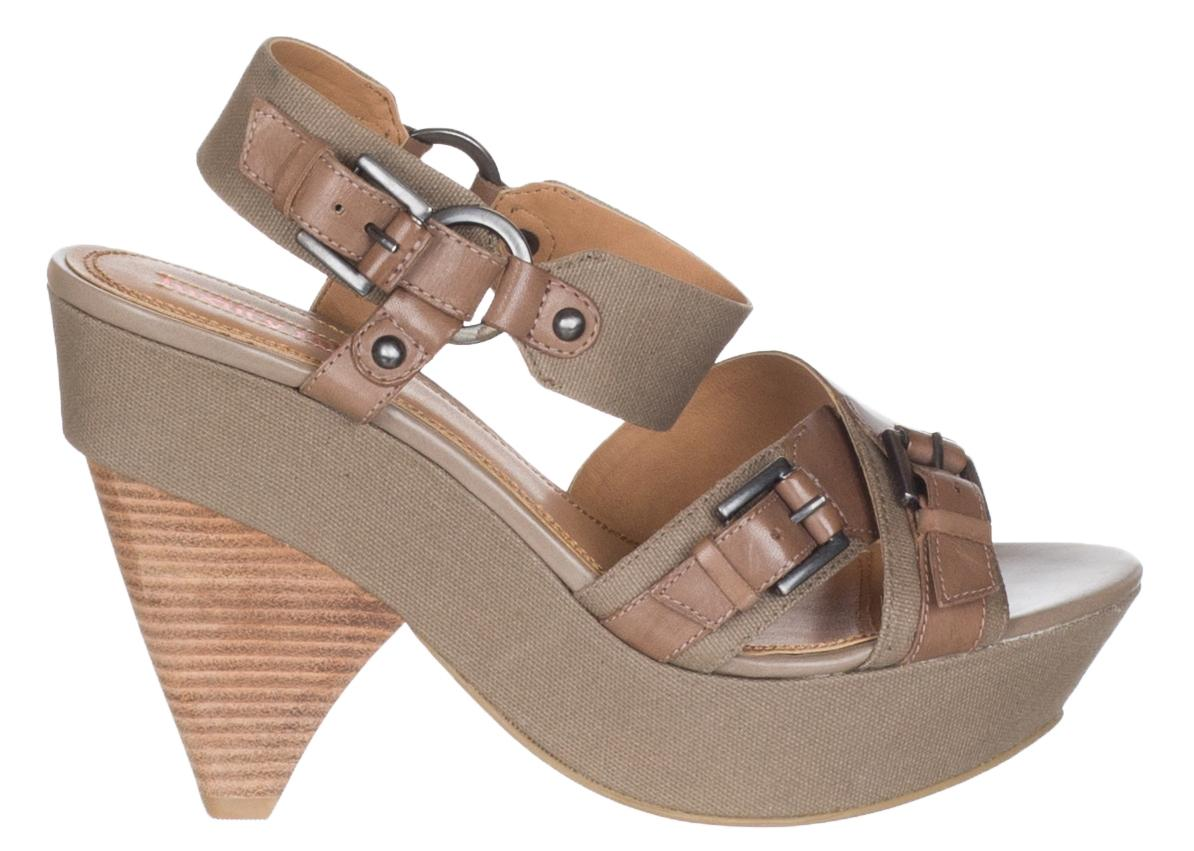 cec9316c1d2e ... Luxury Rebel Taupe Women s Brown Canvas  rena   rena   rena  High ...