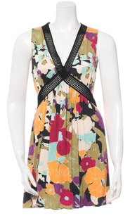 M Missoni short dress BLACK Tunic Floral on Tradesy