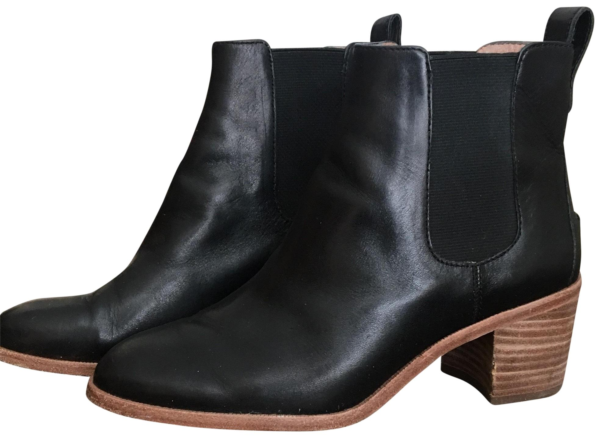 Madewell Black Chunky Heel (M, Ankle Boots/Booties Size US 7 Regular (M, Heel B) 0a53a8