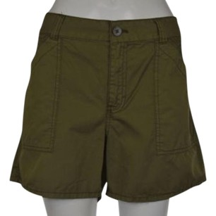 Madewell Womens Shorts Olive Green