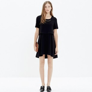 Madewell Graduation Party Overlay Dress