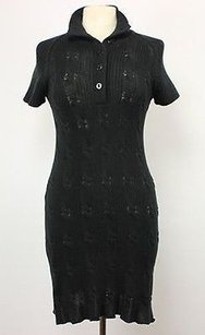 Magaschoni short dress Black Womens on Tradesy