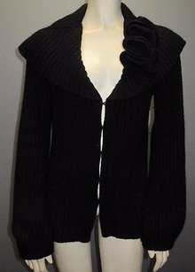 Magaschoni Ribbed Long Sweater
