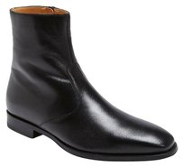 Magnanni Mens Donosti Black Ankle Zip Boot Size 8 Mid Mens Shoes