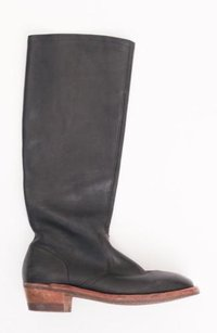 Maison Margiela Maison Womens Leather Black Boots