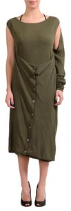 Maison Margiela short dress Green Sweater on Tradesy