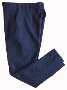 Maison Margiela Skinny Pants NAVY BLUE