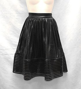 Maje James Puffball Skirt Black