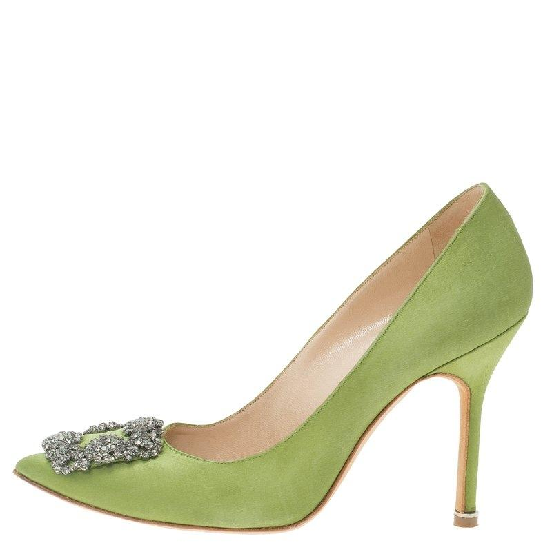 a5c0501afe131 promo code for manolo blahnik green pumps 98468 6a1fc