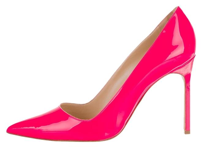 BB 95 pumps - Pink & Purple Manolo Blahnik