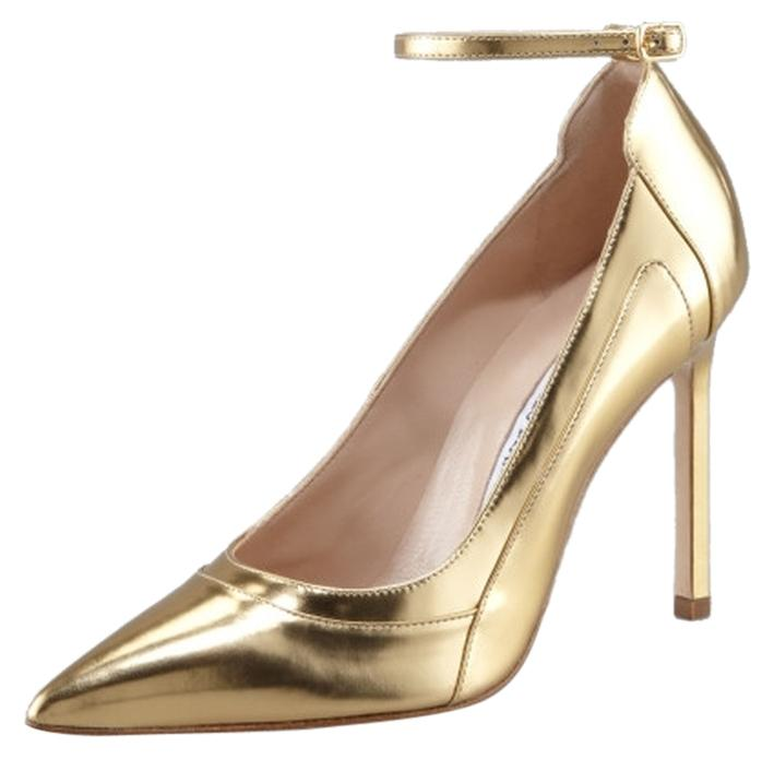 sale genuine sale 100% original Manolo Blahnik Storm Metallic Pumps nicekicks for sale sale 2014 new cheap sale big sale 0vrPTox