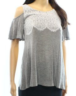Mao Mao Knit New With Tags Top Gray