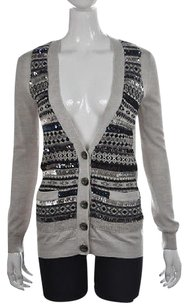 Marc by Marc Jacobs Womens Textured Wool Cardigan Sweater