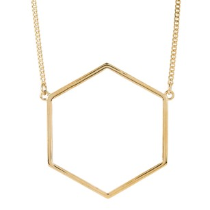 Marc by Marc Jacobs Lost & Found Gold-Tone Six-Sided Pendant Necklace