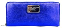 Marc by Marc Jacobs Marc By Marc Jacobs Blur Metalic Slim Continental Wallet New With Tags