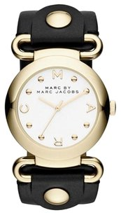 Marc by Marc Jacobs Marc by Marc Jacobs Molly Black Leather Ladies Watch MBM1304