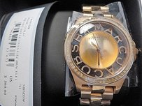 Marc by Marc Jacobs Marc Jacobs Ladies Henry Skeleton Rose Gold Glitz Watch Mbm3339