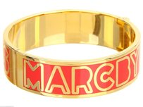 Marc by Marc Jacobs Marc Jacobs Rock Lobster Gold Classic Hinged Cuff Bangle Bracelet M5131051