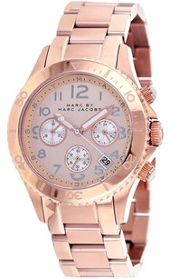 Marc by Marc Jacobs Marc Jacobs Women's MBM3156 'Rock' Rosetone Stainless Steel Watch