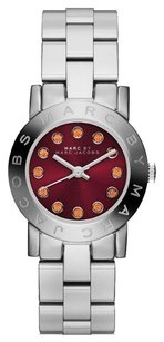 Marc by Marc Jacobs MBM3335 Marc by Marc Jacobs Red Dial Bracelet Ladies Watch