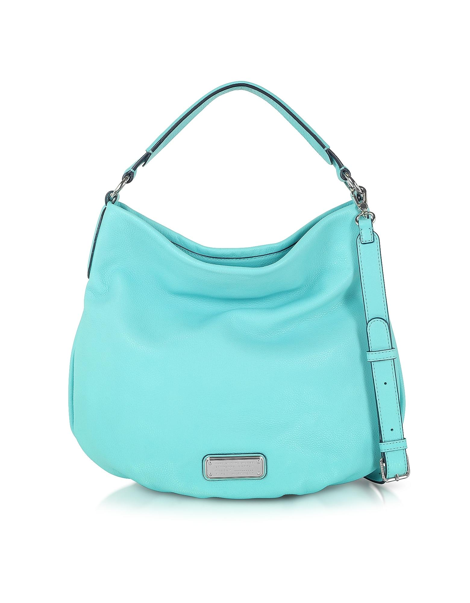 Aqua Leather Hobo Low Price Online Best Wholesale Sale Online Cheap Pictures Q5ex41bZo