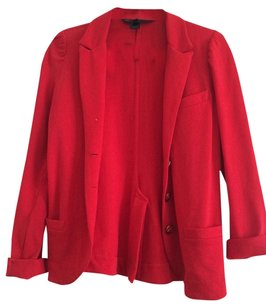 Marc by Marc Jacobs Red Blazer