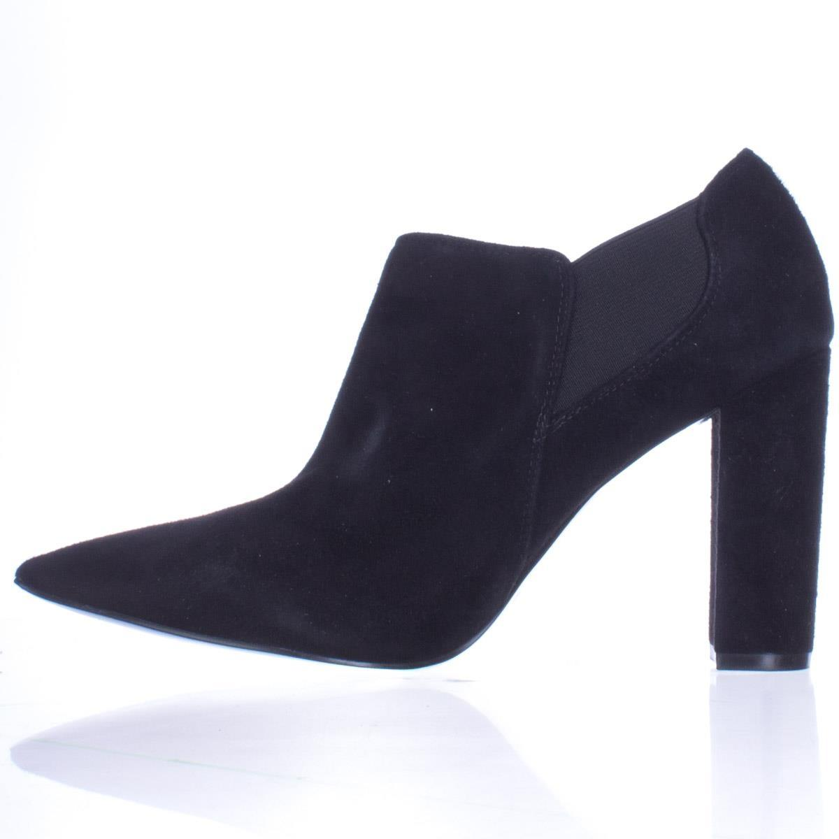 d8cb13b7a285 ... Marc Marc Marc Fisher Black Hydra Pointed Toe Heel Dress Ankle Multi  Boots Booties Size ...