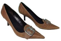 Marc Fisher Leather Brown Pumps
