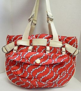 Marc Jacobs Red White Blue Nylon Beach Tote in Multi-Color